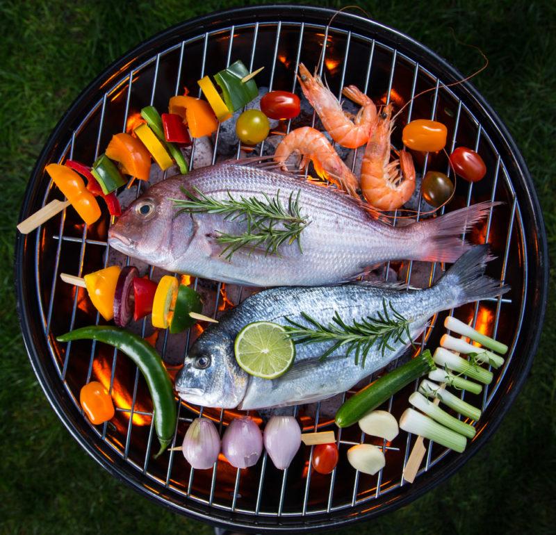 Grillkurs mit Fisch